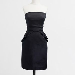 Jcrew strapless dress NWOT